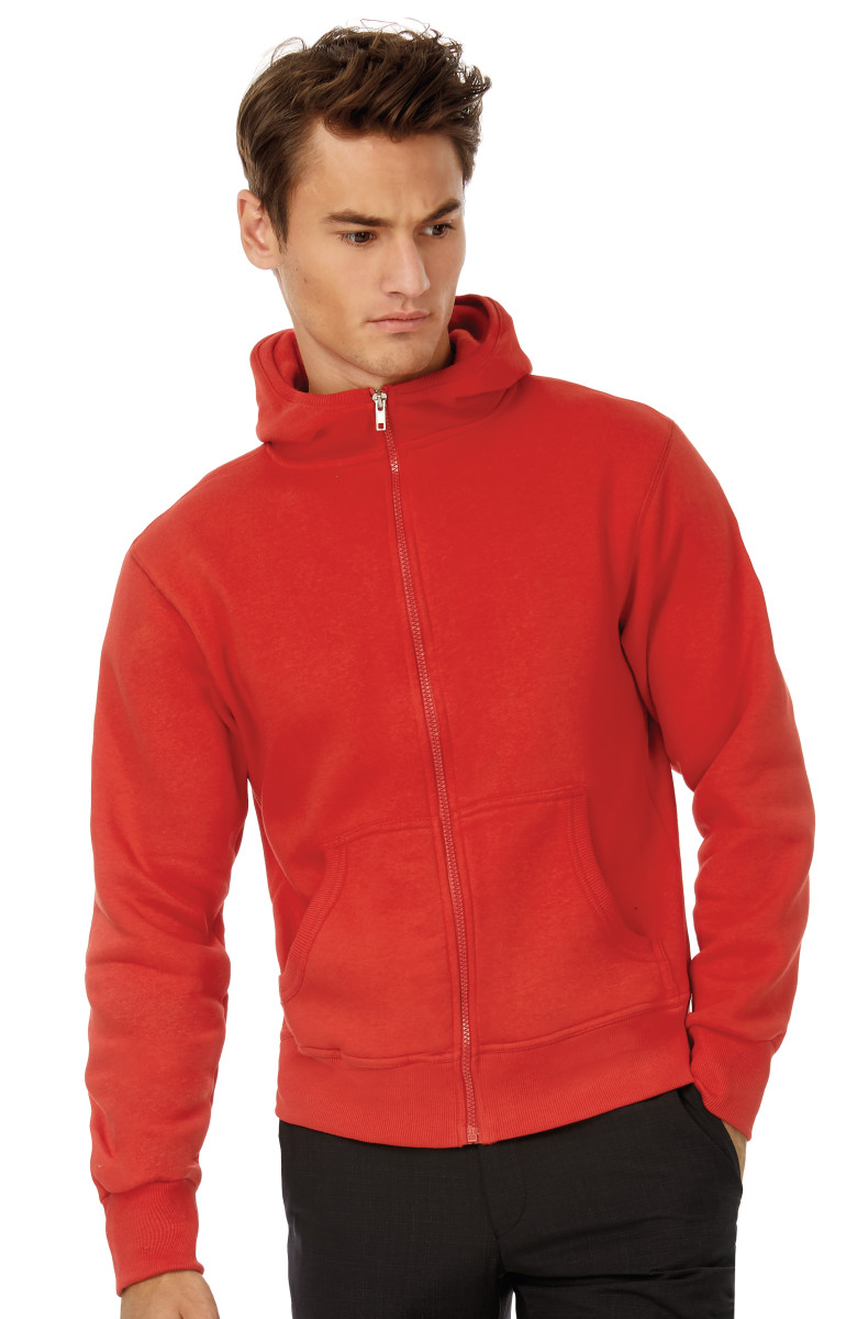 B&C Monster Men Full Zip Hood