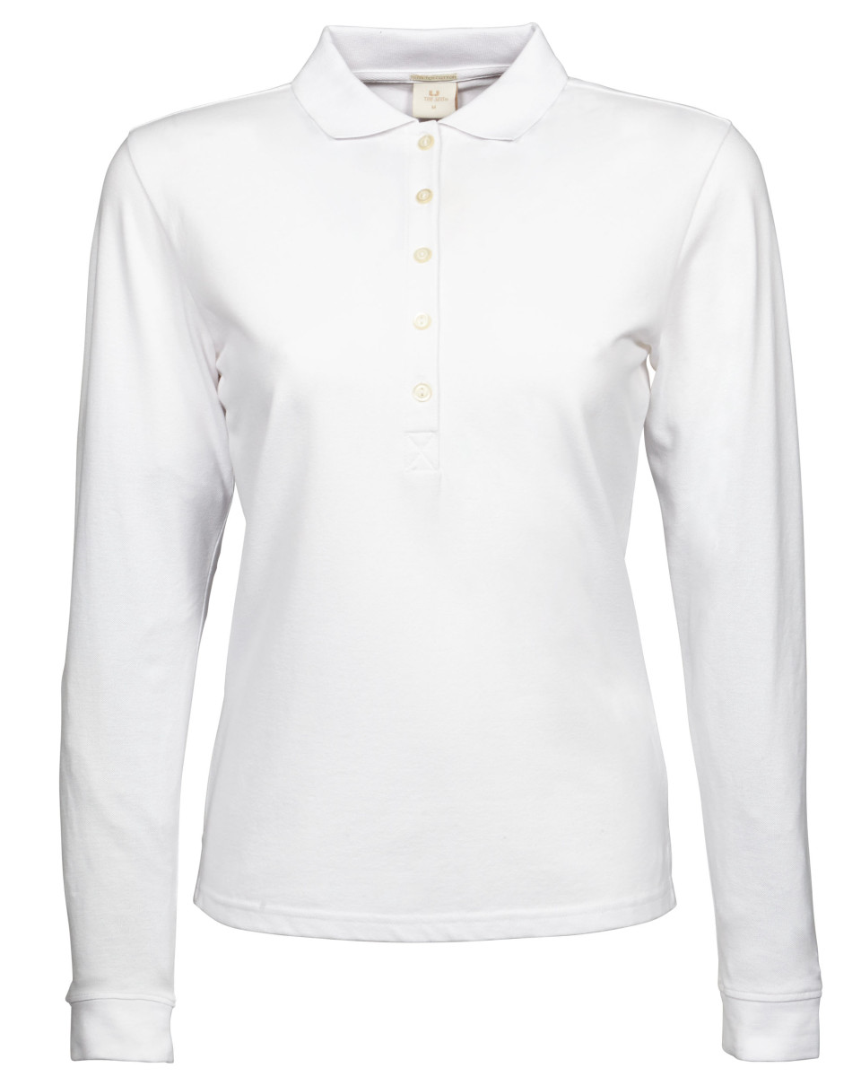 Tee Jays Ladies Luxury Stretch L/S Polo