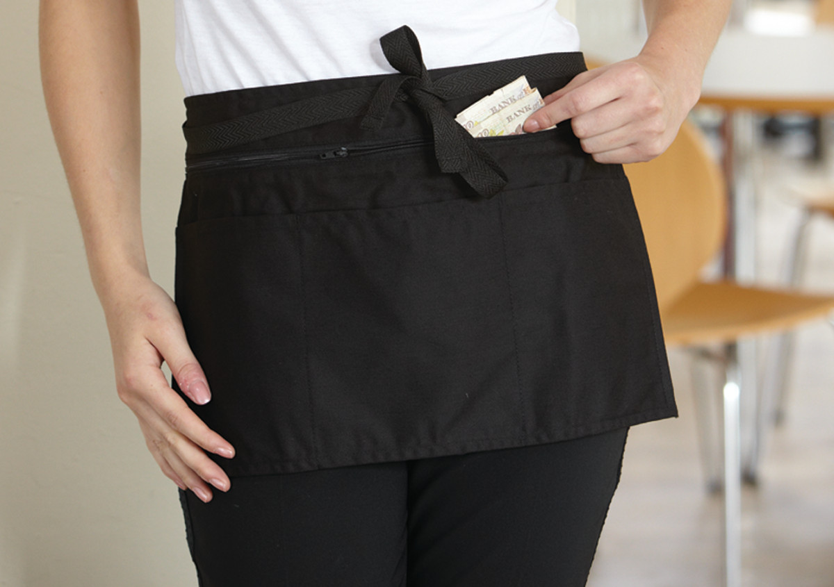 Full Zip Multi Pocket Apron