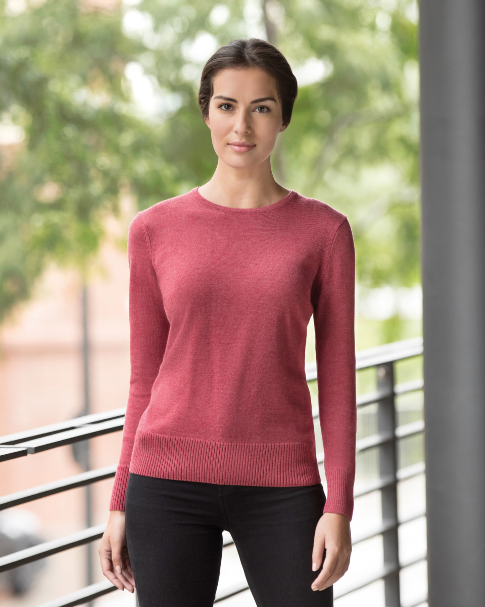 Russell Collection Ladies Crew Pullover
