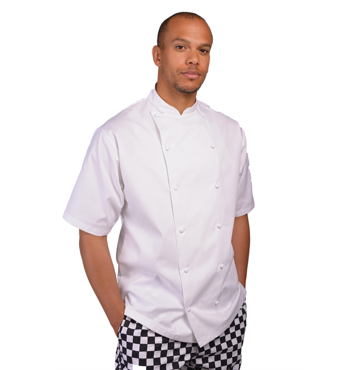 Le Chef Mens Executive S/S Chefs Jacket