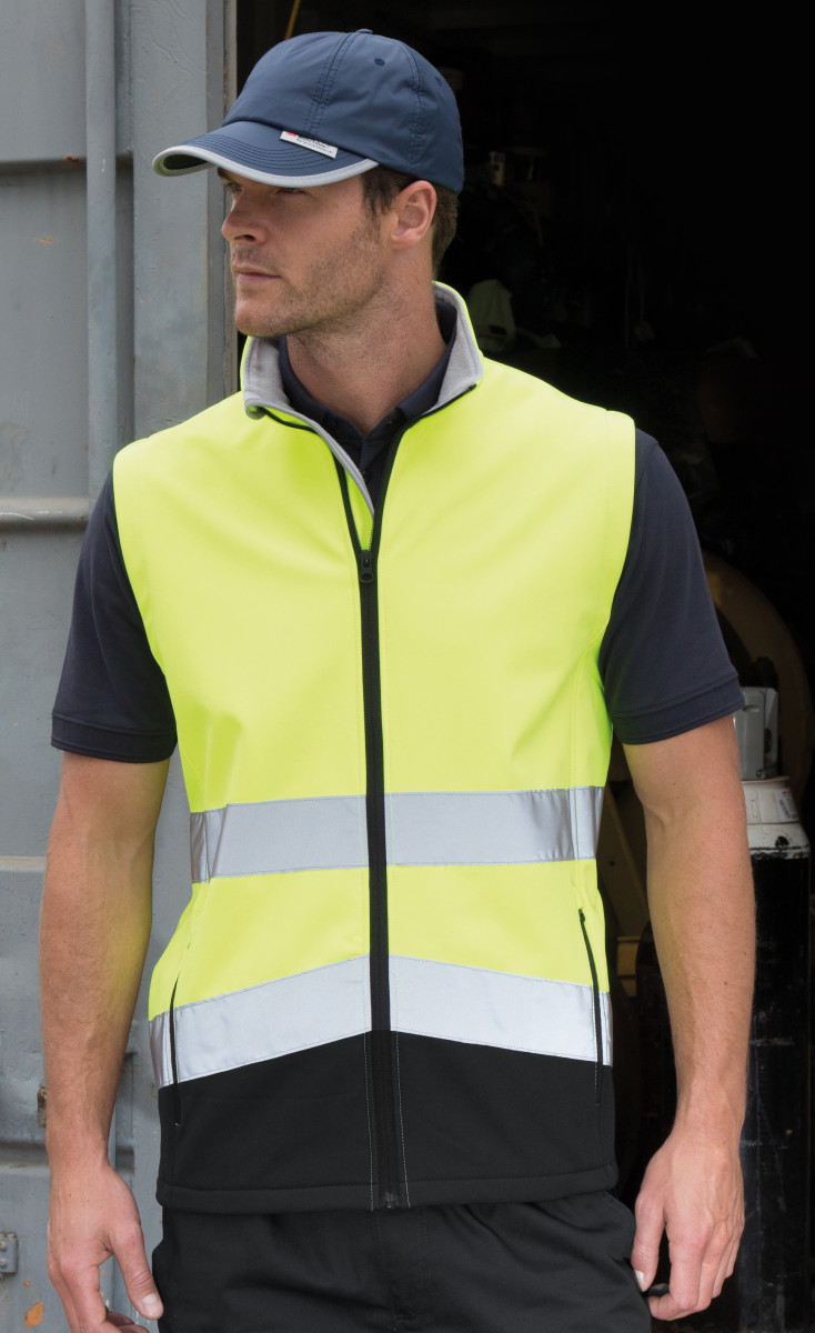 Safeguard Safety Softshell Gilet