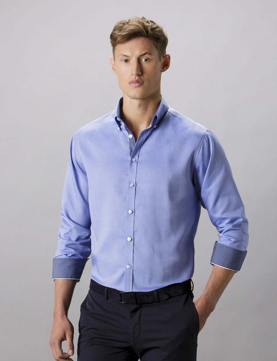 Clayton & Ford Contrast Oxford Shirt