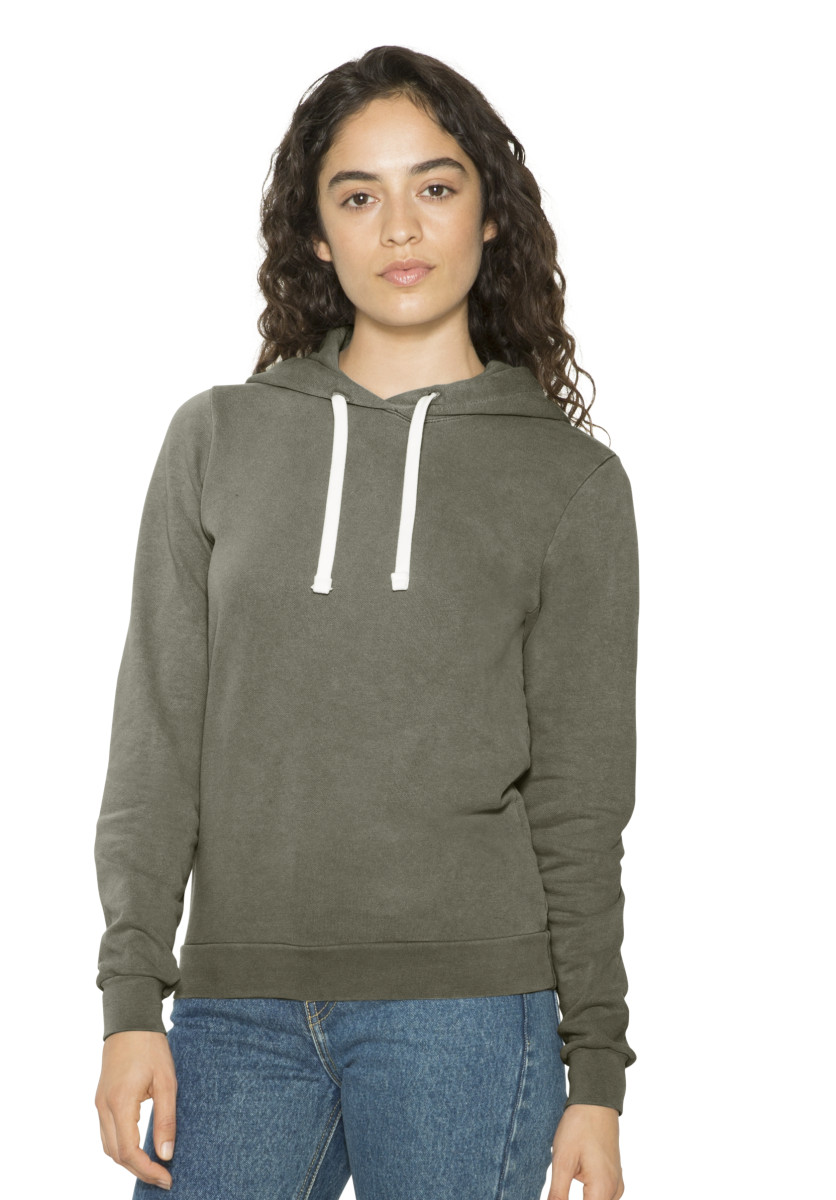 American Apparel Women Mid-Length Hoodie