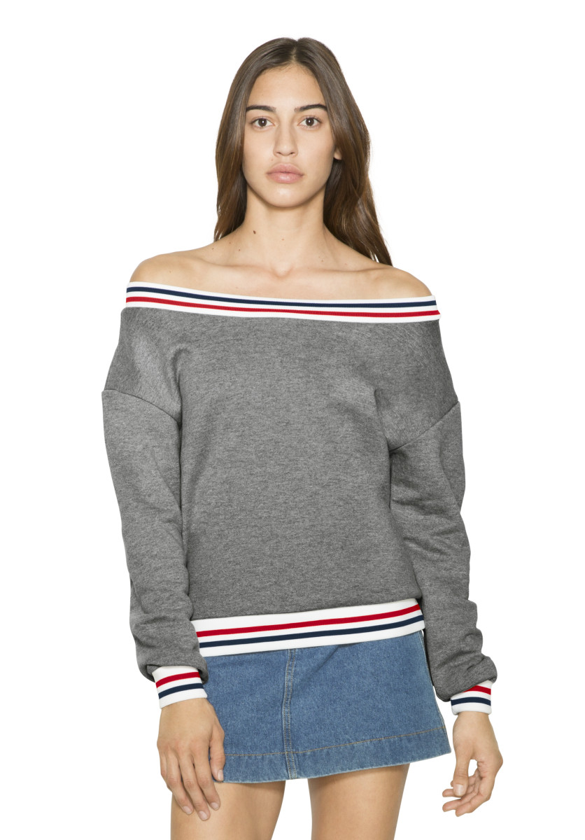 American Apparel Womens Sport Sweatshirt