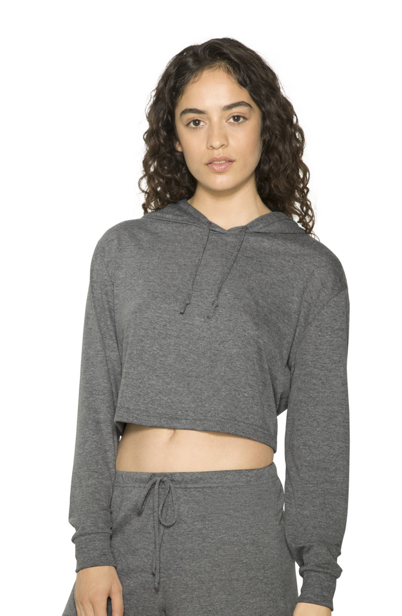 American Apparel Womens Cropped Hoodie