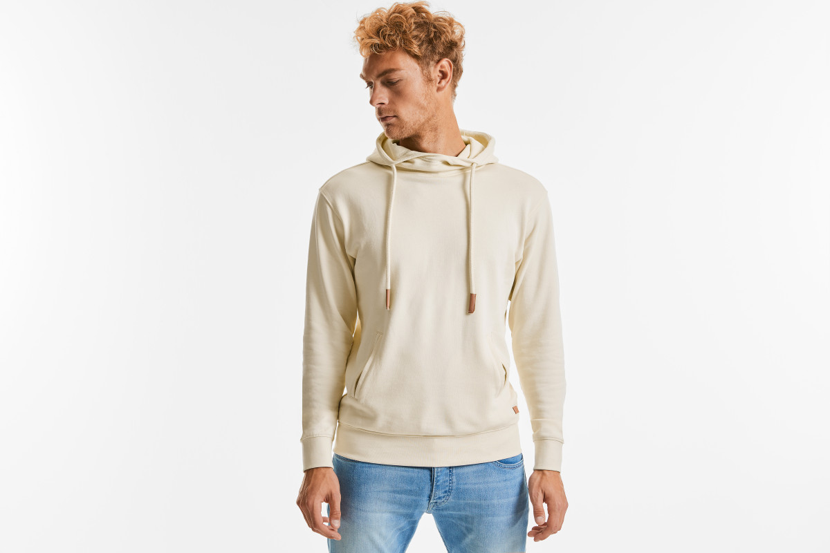 Russell Unisex Organic Hooded Sweat