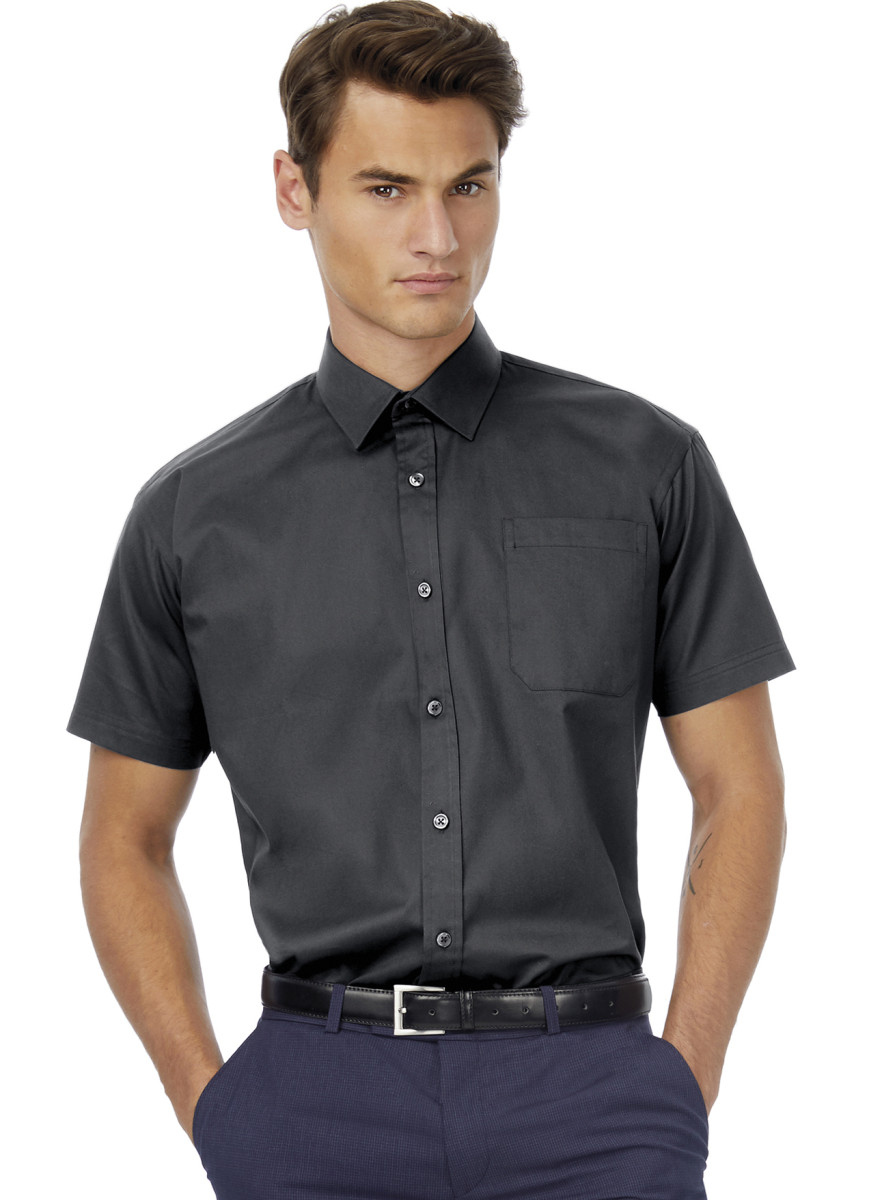 Men's Sharp Twill Short Sleeve Shirt