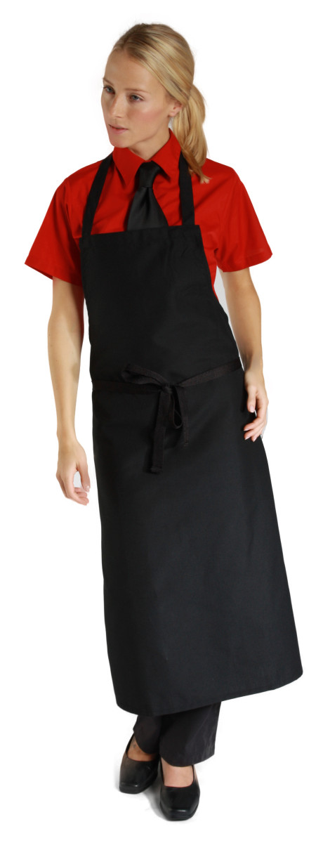 Dennys Low Cost Bib Apron No Pocket