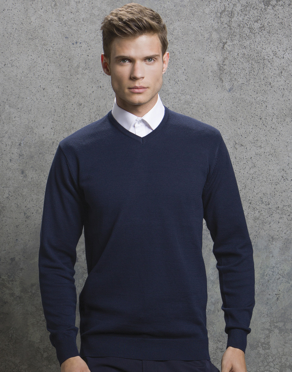 Men's Arundel Long Sleeve V-Neck Sweater